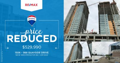 New Price Assignment : #1506 Riversky 2, New Westminster built by Bosa