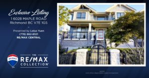 Richmond Luxury Townhouse for Sale - 1 6028 MAPLE ROAD Richmond