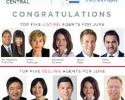 Top 5 Selling agent in my Remax office in June 2018 - Lotus Yuen PREC