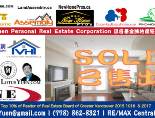Another SOLD Beautiful Townhouse for Sale by Lotus Yuen PREC