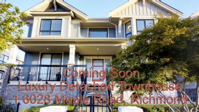 Richmond Luxury Detached Townhouse for Sale by Lotus Yuen PREC
