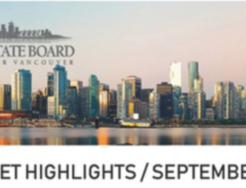 Greater Vancouver Real Estate Report for Sep 2018
