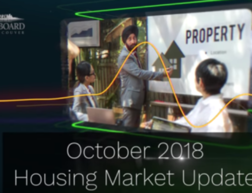 Real Estate Market Update October 2018 – Real Estate Board of Greater Vancouver