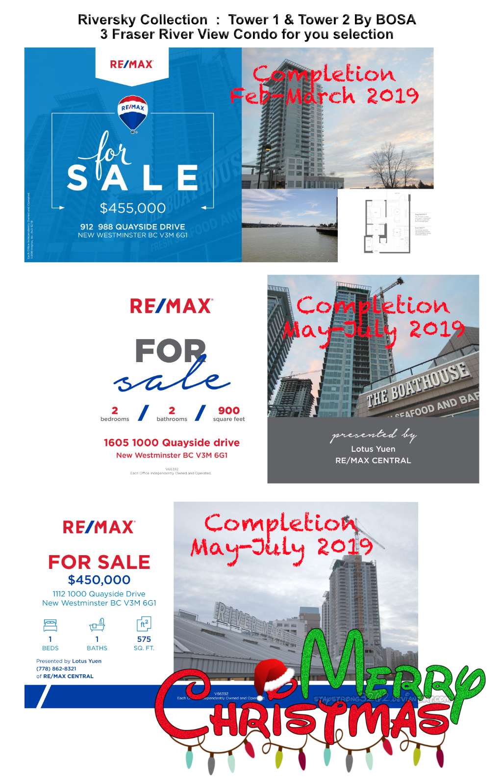 Riversky Assignments By Bosa For Sale  Findhomevalueca  Your  Riversky Assignments By Bosa For Sale