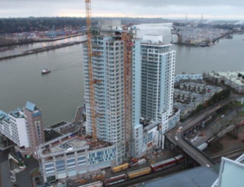 New Exclusive Listing : Unit 1605 1000 Riversky 1 by Bosa Assignment for Sale