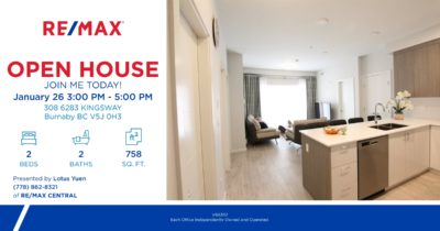 Open house 308 Pixel Burnaby Condo for Sale by Lotus Yuen