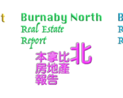 Burnaby Real Estate Report