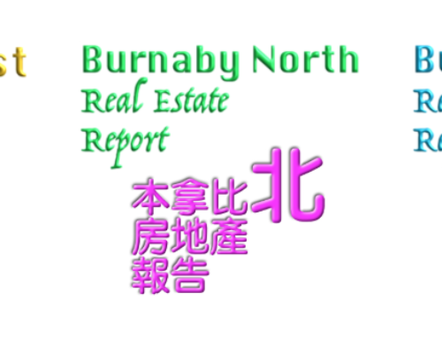 Real Estate Market Report for Burnaby East, Burnaby South and Burnaby North