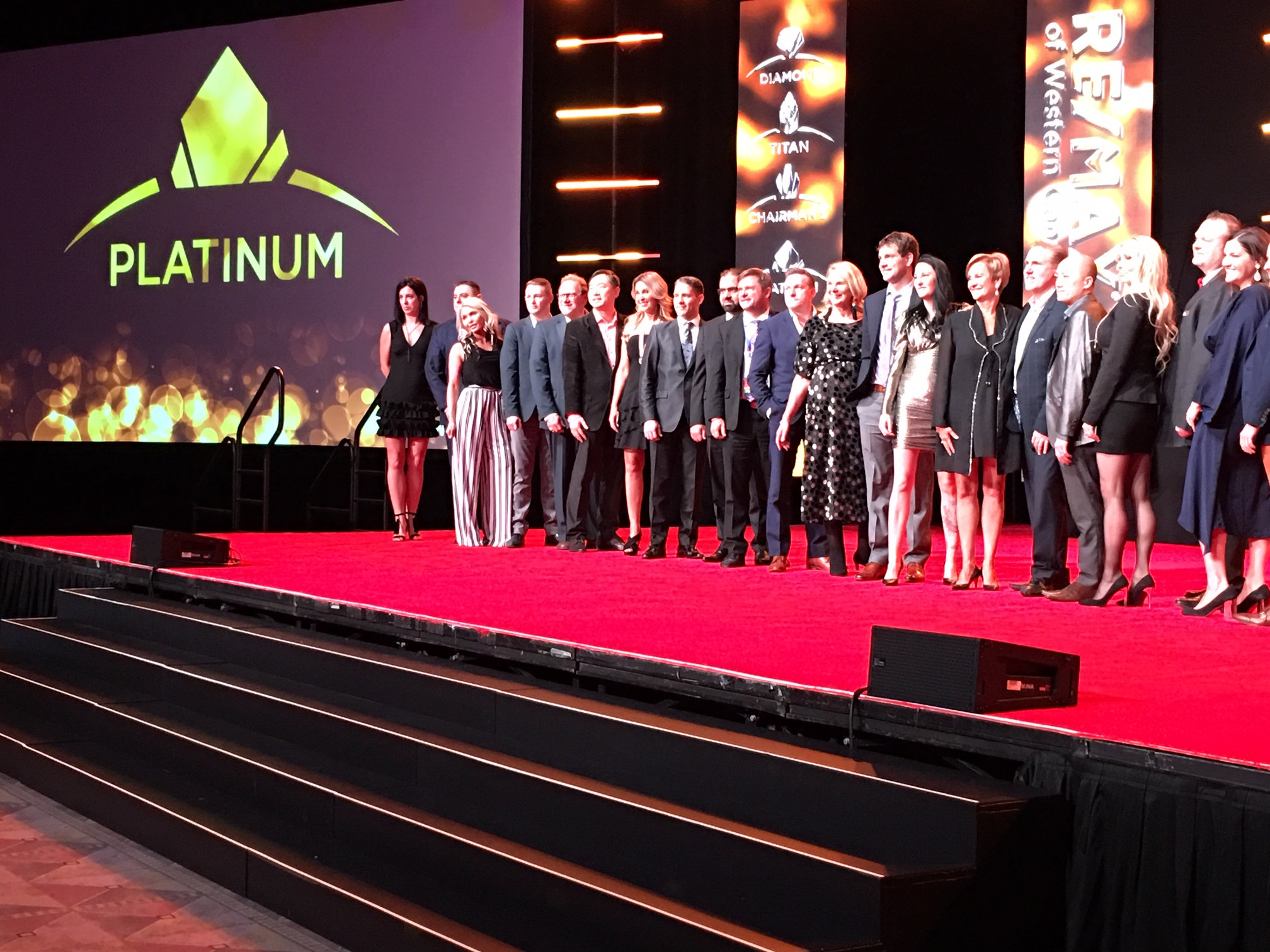 Platinum Awards in Las Vegas - Lotus Yuen