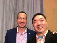 Lotus Yuen with Remax CEO Adam Contos