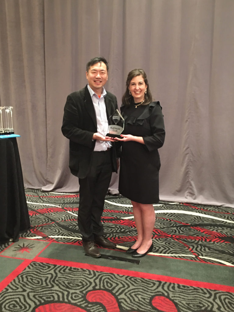 Lotus Yuen Award from Remax CEO - Adam Contos