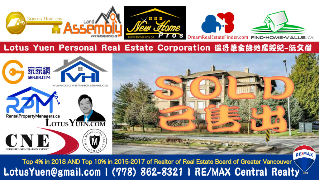 SOLD 317 808 SANGSTER PL NEW Westminster by Lotus Yuen PREC copy
