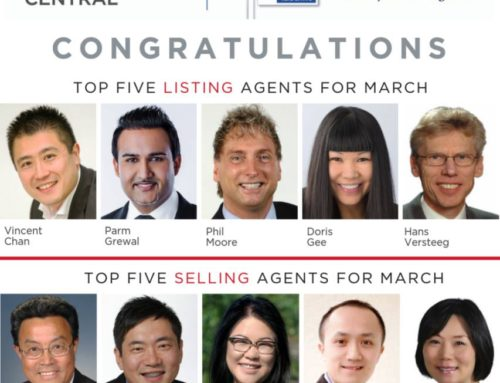 Lotus Yuen PREC | Top 5 Selling Agents in March 2019
