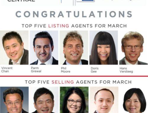 Lotus Yuen PREC | Top 5 Selling Agents in March 2019