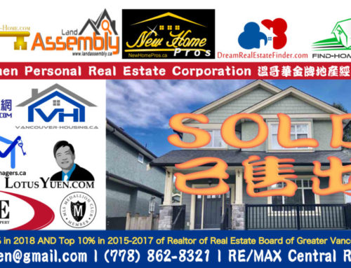 SOLD: Burnaby East Detached House for Sale by Lotus Yuen PREC