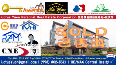 Burnaby Apartment SOLD 302 5288 BERESFORD ST Burnaby by Burnaby Realtor Lotus Yuen PREC copy
