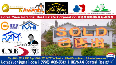 SOLD : 1670 MILFORD AVENUE Coquitlam