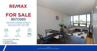 Luxury Condo for Sale in Vancouver West by Lotus Yuen PREC