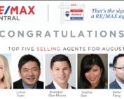 Top 5 Selling Realtor Aug 2019 with Lotus Yuen PREC