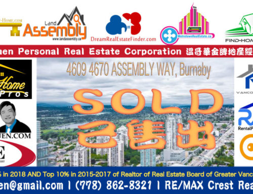 SOLD : 4609 4670 ASSEMBLY WAY, Burnaby
