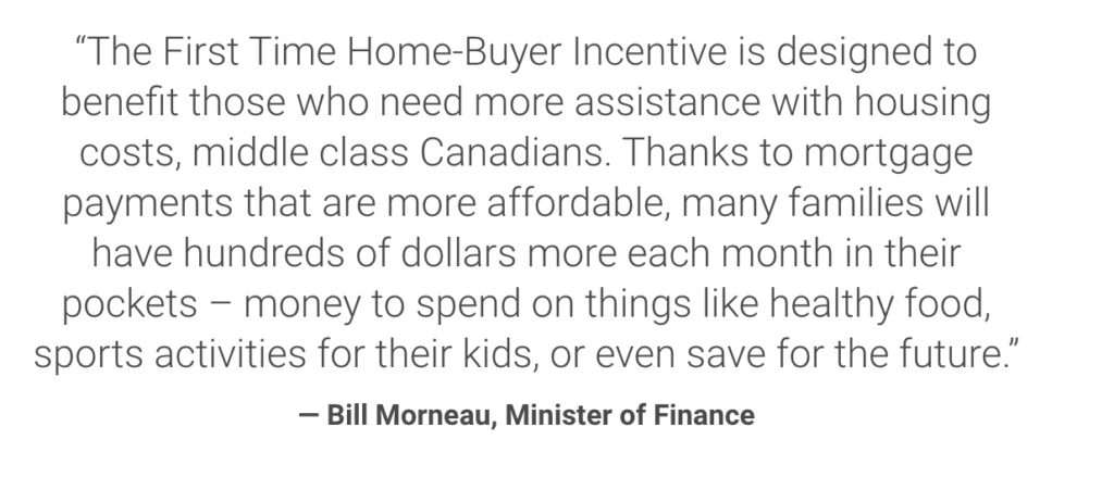 Middle Class Canadians to Buy their First Home