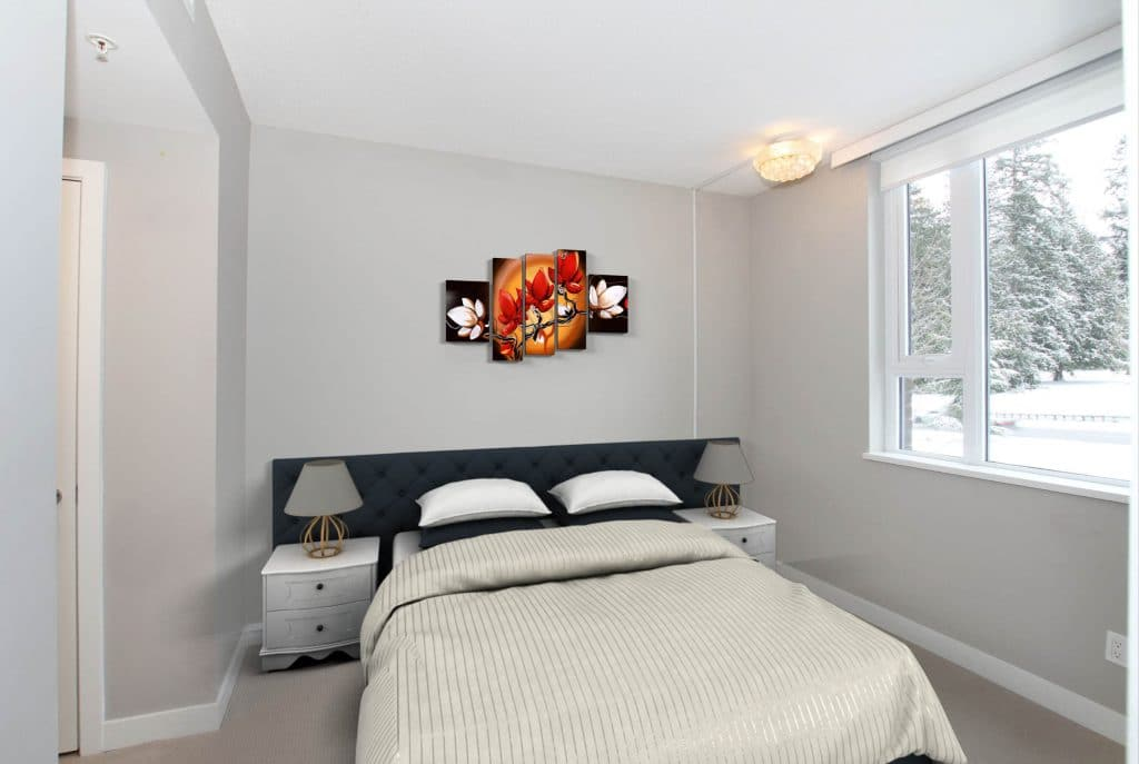 212 master bedroom Virtual staging 1920