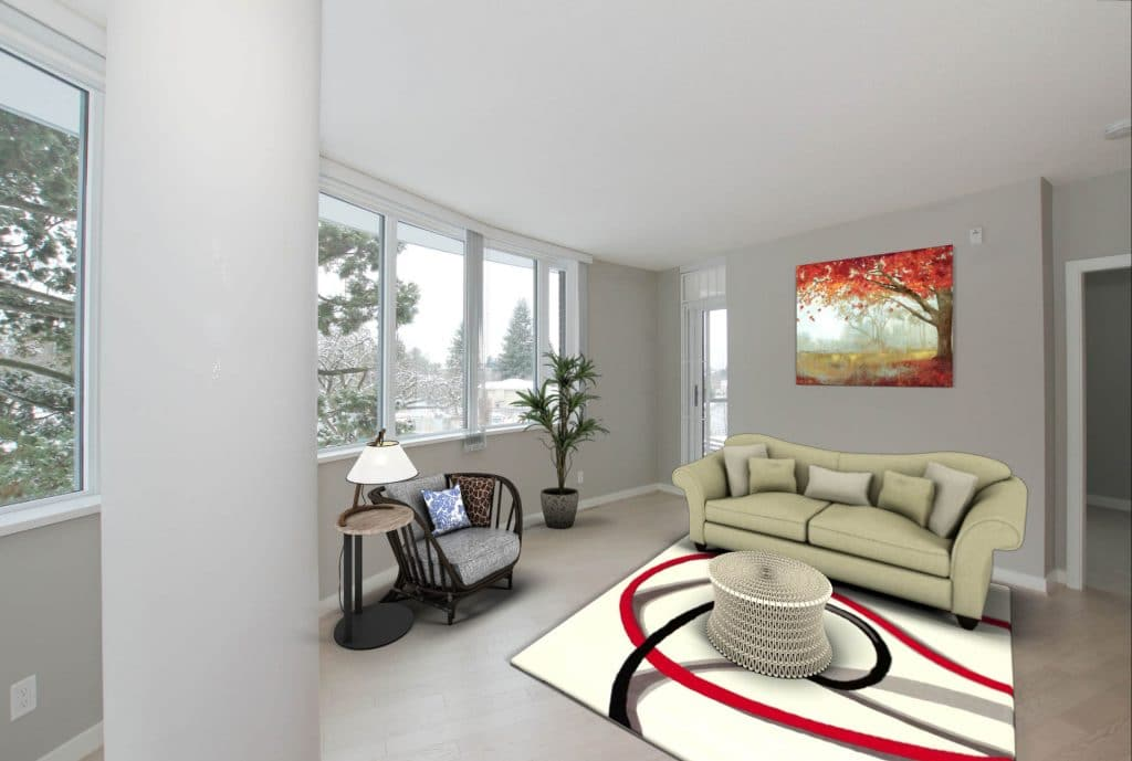 212 new virtual staging living room by Lotus Yuen Real Estate Team