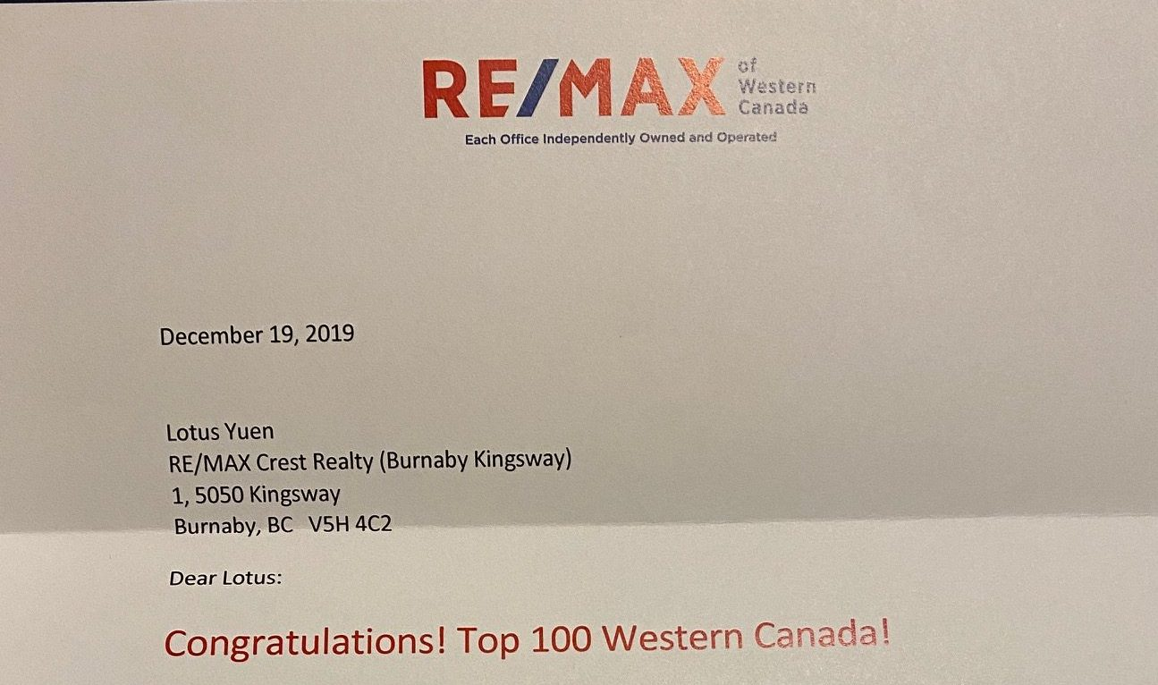 Top 100 Realtor REMAX Western Canada