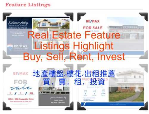 3-2-1 Real Estate Highlight For Sale, For Rent and Coming Soon by Lotus Yuen