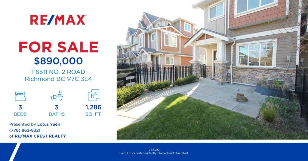 Richmond Luxury Townhouse For Sale 1_6511_NO._2_ROAD