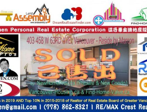 SOLD: Luxury Vancouver Condo – 401 4375 W 10TH AVENUE Vancouver