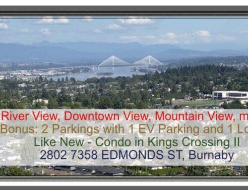 Burnaby Luxury Condo Kings Crossing 2 For Sale – 2802 7358 Edmonds Street, Burnaby