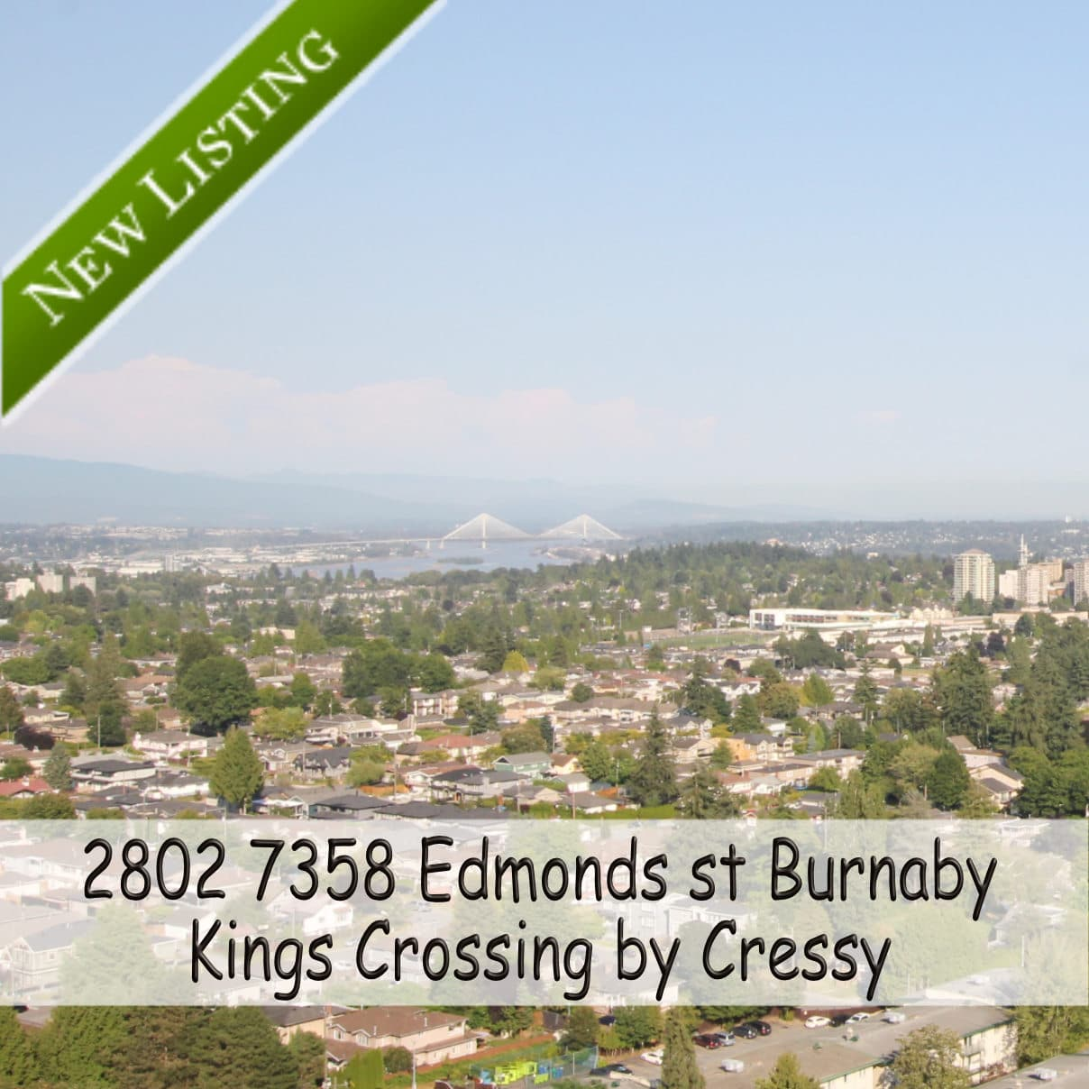 New Listing 2802-7358-Edmonds-st Burnaby Condo for Sale by Lotus Yuen