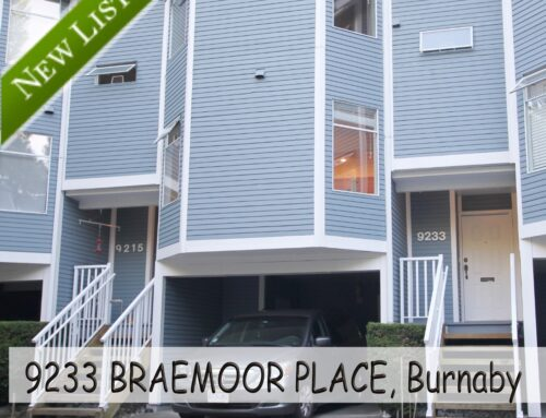 New Listing : R2508707  9233 Braemoor PL Burnaby Townhouse for sale