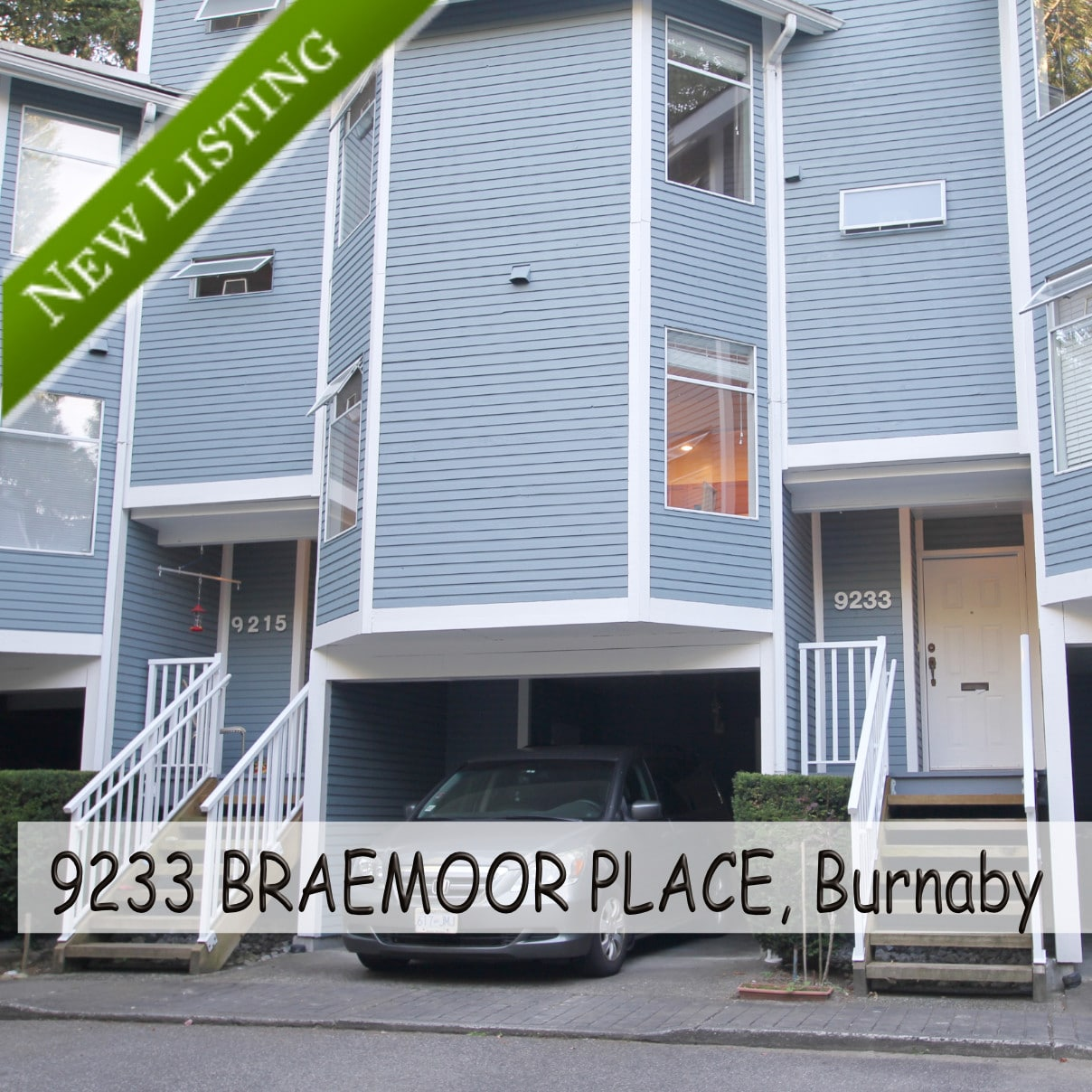 New Listing 9233-BRAEMOOR-PLACE Burnaby Townhouse for sale