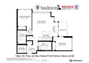 1109 13380 108 AVE Surrey floorplan copy