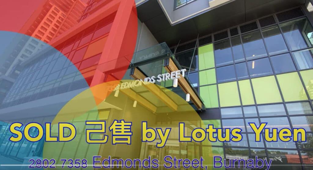 SOLD : Kings Crossing II sold by Lotus Yuen PREC