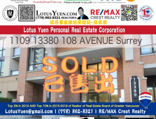 SOLD : Surrey High rise condo near skytrain For Sale – 1109 13380 108 AVENUE, Surrey