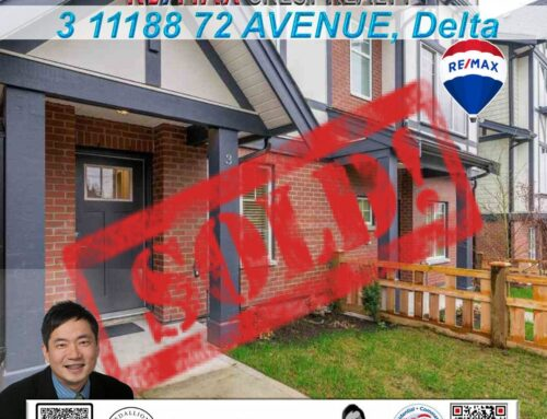 SOLD : 3 11188 72 AVENUE Delta Townhouse