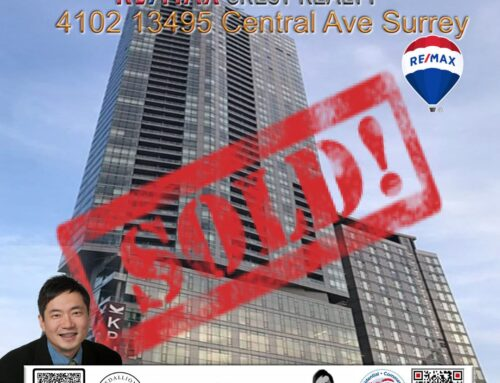 SOLD : 4102 13495 Central Ave Surrey Condo
