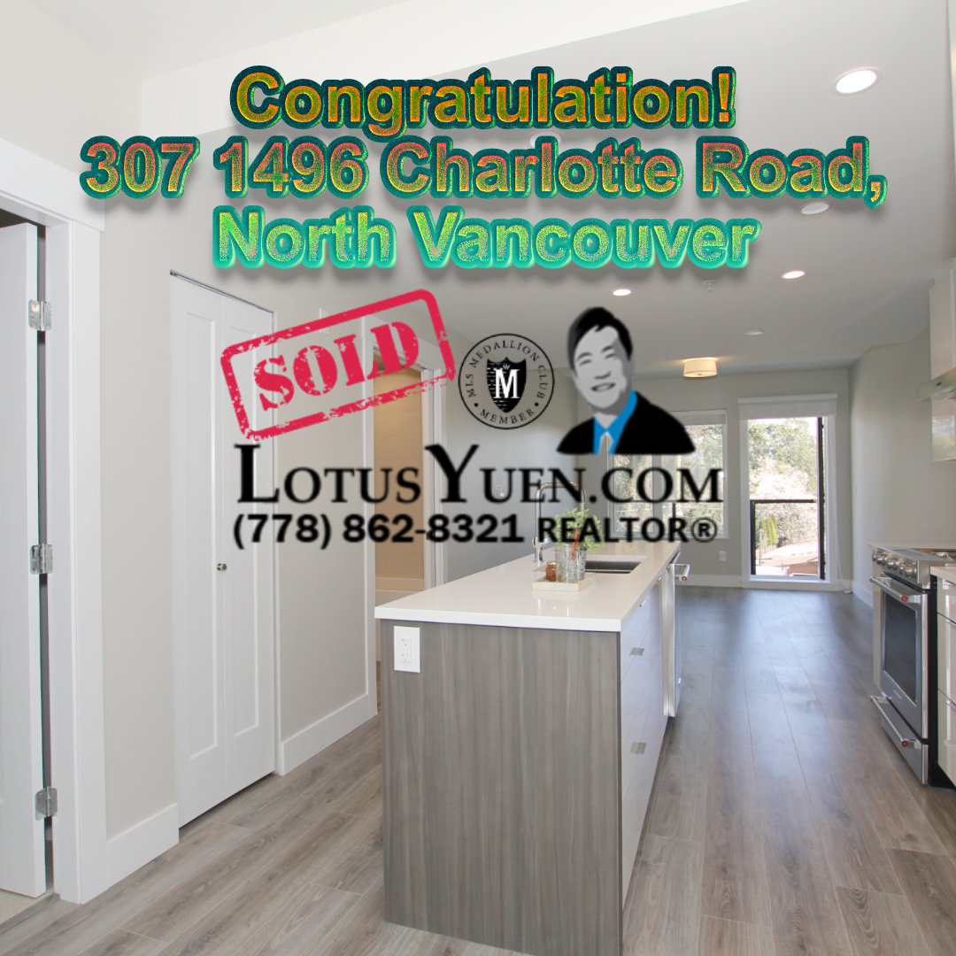 SOLD - 307 1496 Charlotte Road, North Vancouver