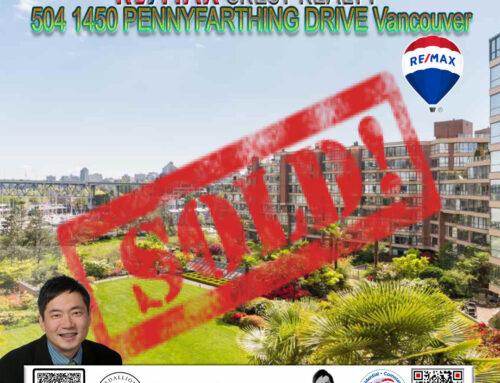 SOLD-504 1450 PENNYFARTHING DRIVE, Vancouver West, False Creek