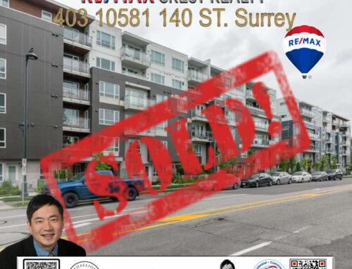 SOLD-403 10581 140 STREET SURREY Condo for sale