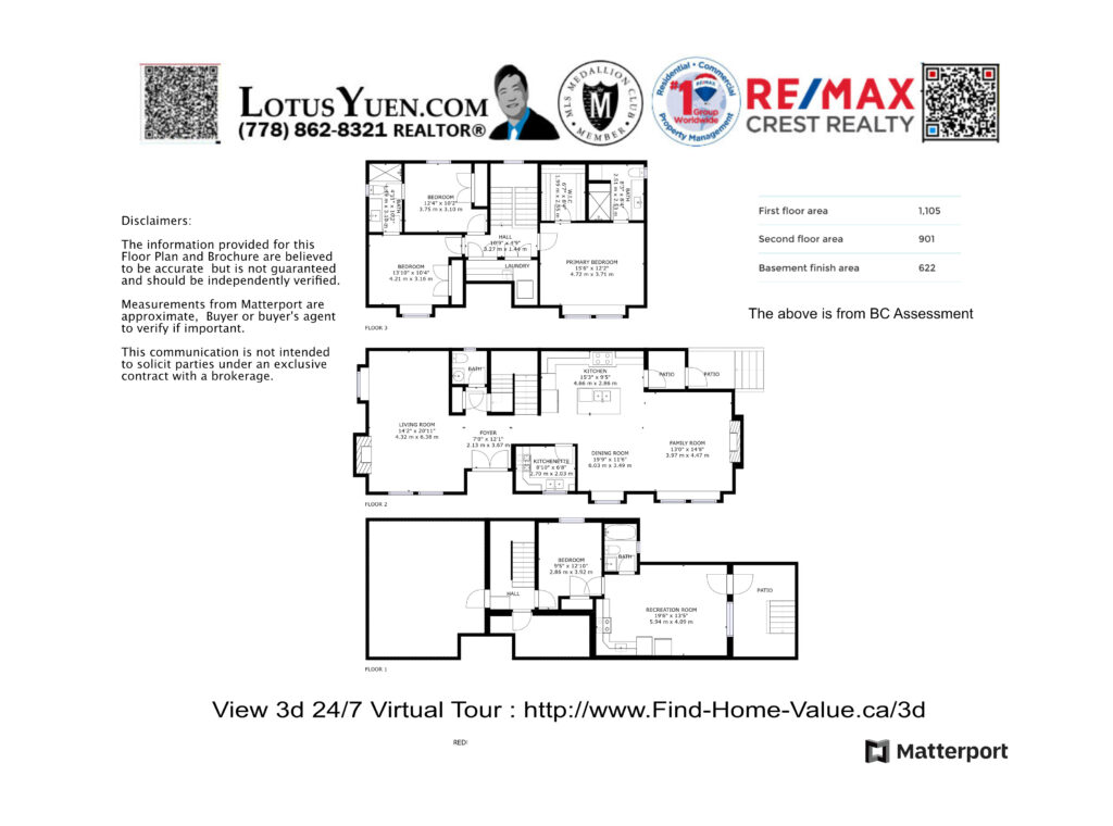 Final floorplan 6628 Griffiths Ave