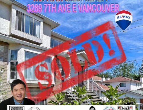 SOLD-3289 E 7TH AVENUE Vancouver East Renfrew V5M 1V8